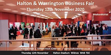 Halton and Warrington Business Fair 2020 billets