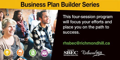 Business Plan Builder Series: Session 1 - Vision, Mission & Value Proposition Design  tickets