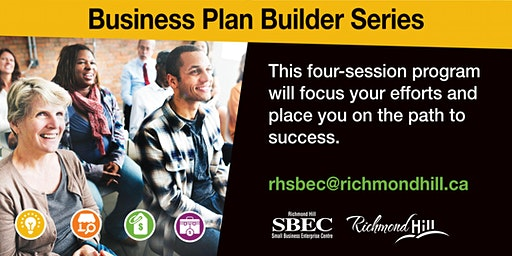 Business Plan Builder Series: Session 1 - Vision, Mission & Value Proposition Design