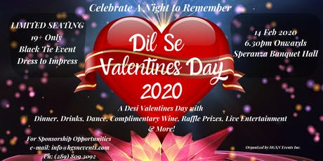 ★★★ !! DIL SE VALENTINE'S DAY !! ★★★ tickets