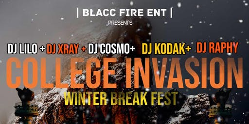 College Invasion:  Winter Blacc Fire Festival