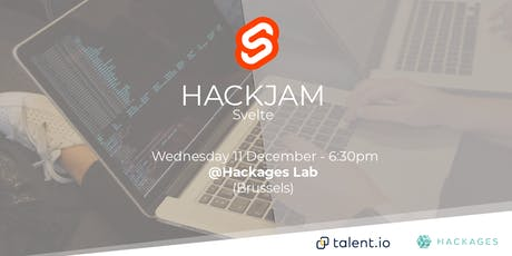 Free HackJam Intro to Svelte tickets