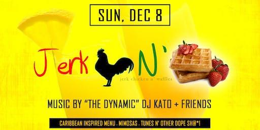Jerk Chicken N' Waffles Brunch: December 2019