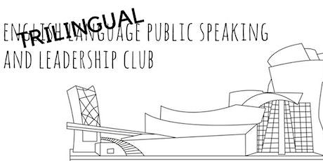 Sesiones para hablar en público entradas