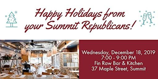 2019 Summit Republican Holiday Dinner