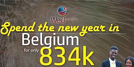 Spend New Year in Belgium tickets