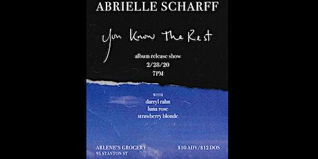 Abrielle Scharff, Strawberry Blonde, Luna Rose, Darryl Rahn at Arlene's! tickets