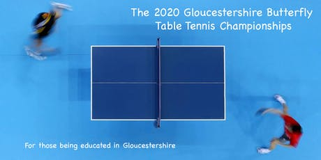 The 2020 Gloucestershire Butterfly Table Tennis Championships tickets