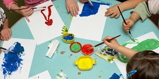 Mixed Media Art Class for Kids with Special Needs