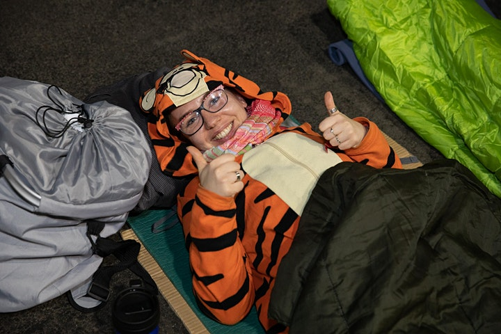 Evolve Sleep Out 2020, sponsored by Croydon BID image