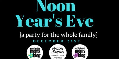 SMB & NPhxMB Noon Year's Eve Party {for you and your family!}