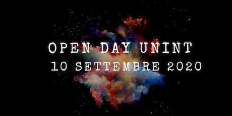 Open Day - 10 settembre 2020 biglietti