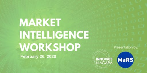Market Intelligence Workshop with MaRS