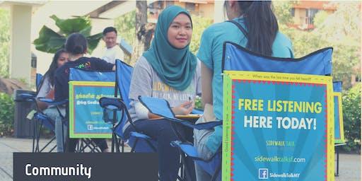 Talk : Sidewalk Talk - A Community Listening Proje