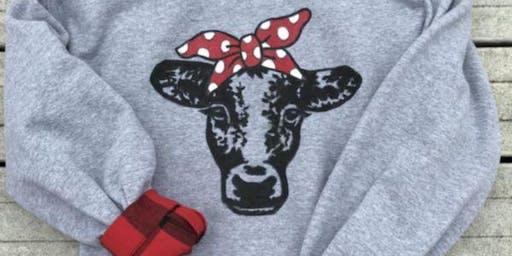 Bessie Painted Sweatshirt Class