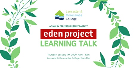 LMC & Eden Project Learning - Talk With Professor Robert Barratt tickets