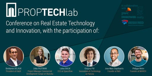 PAFT - PropTech Afterworks with HabX, SpaceFlow, Patrizia, Skanska