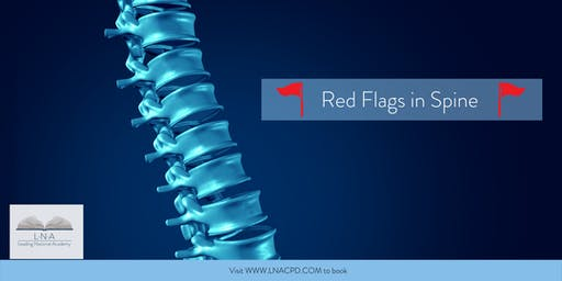 Red Flags in Spine
