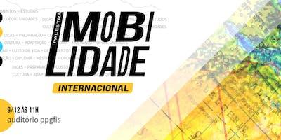 Palestra Mobilidade Acadêmica Internacional