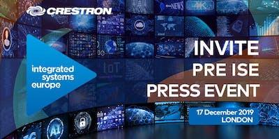 Invite Pre ISE Press Event