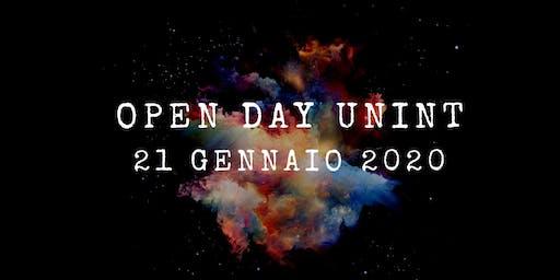 Open Day - 21 gennaio 2020