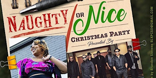 Naughty or Nice Christmas Party Feat (The Jamie Wright Band, Night Affair Band & Dj Scientist)