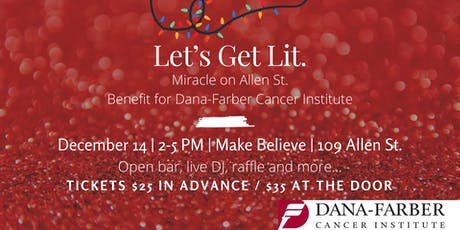 Miracle on Allen Street (Benefit for Dana-Farber Cancer Institute)  tickets