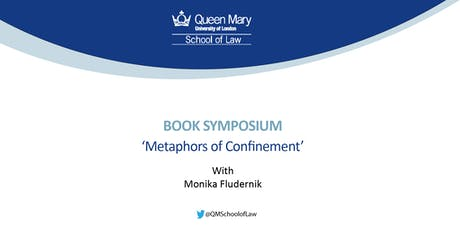Book Symposium on Monika Fludernik's Metaphors of Confinement tickets