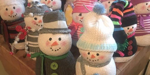 Community Crafting Workshop: Make Your Own Sock Snowman