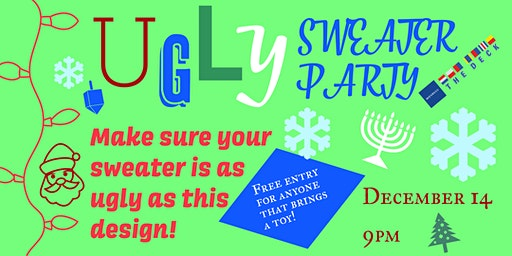 Old School Hip-Hop Ugly Sweater Party