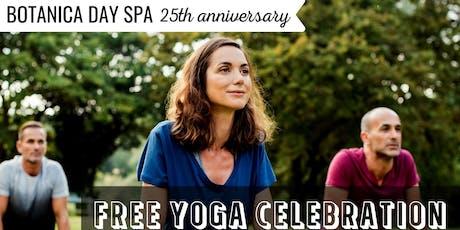 Free 25th Anniversary Yoga Event tickets