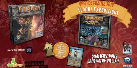 Tournoi Open de France Clank! 2019 - Nantes billets