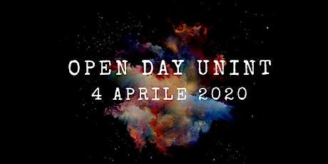 Open Day - 4 aprile 2020 biglietti