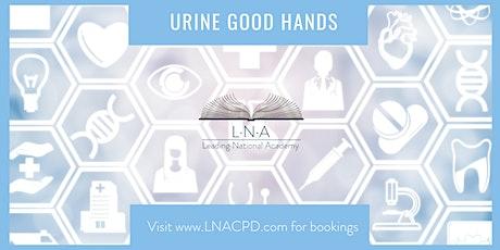 Urine good hands! tickets