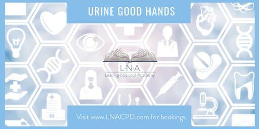 Urine good hands!