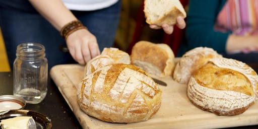 Sourdough Bread Making and Three-Course Meal: Thursday December 12th