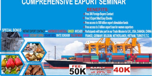 Comprehensive Export Seminar