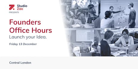 Founders Office Hours tickets