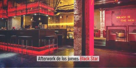 Afterwork single con picoteo en Black Star entradas