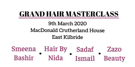 Grand Hair Masterclass 2020 tickets
