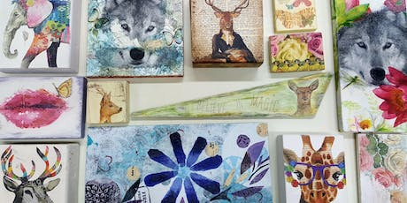 Decoupage Class- Upcycled Wall Art tickets