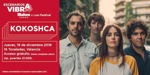 Kokoshca en Valencia - Escenarios Vibra Mahou x Low Festival