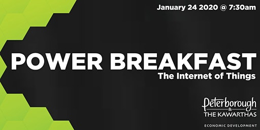 Power Breakfast: The Internet of Things