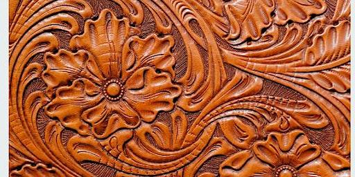 Corso base leather carving: cesellatura artistica del cuoio
