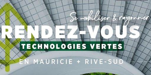 RDV des technologies vertes - Mauricie + Rive-Sud - GROUPÉ