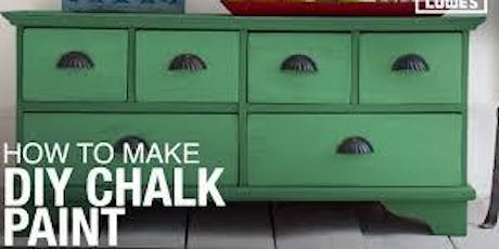 DIY Chalk Paint (Hands On Making/Painting/Waxing) tickets