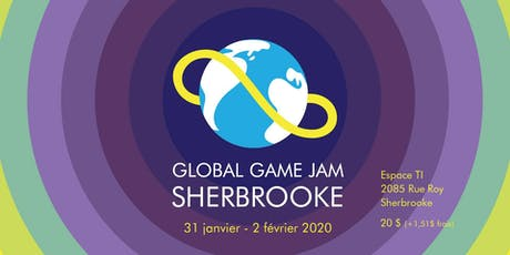 Global Game Jam Sherbrooke billets