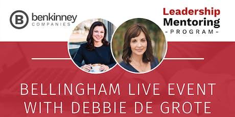 Ben Kinney Leadership Mentoring Program LIVE EVENT with Debbie De Grote tickets
