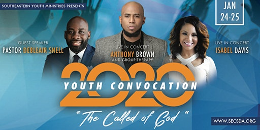 SEC Youth Convocation - Featuring  Anthony Brown & Group Therapy Concert