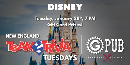 Trivia Tuesday: Disney Edition